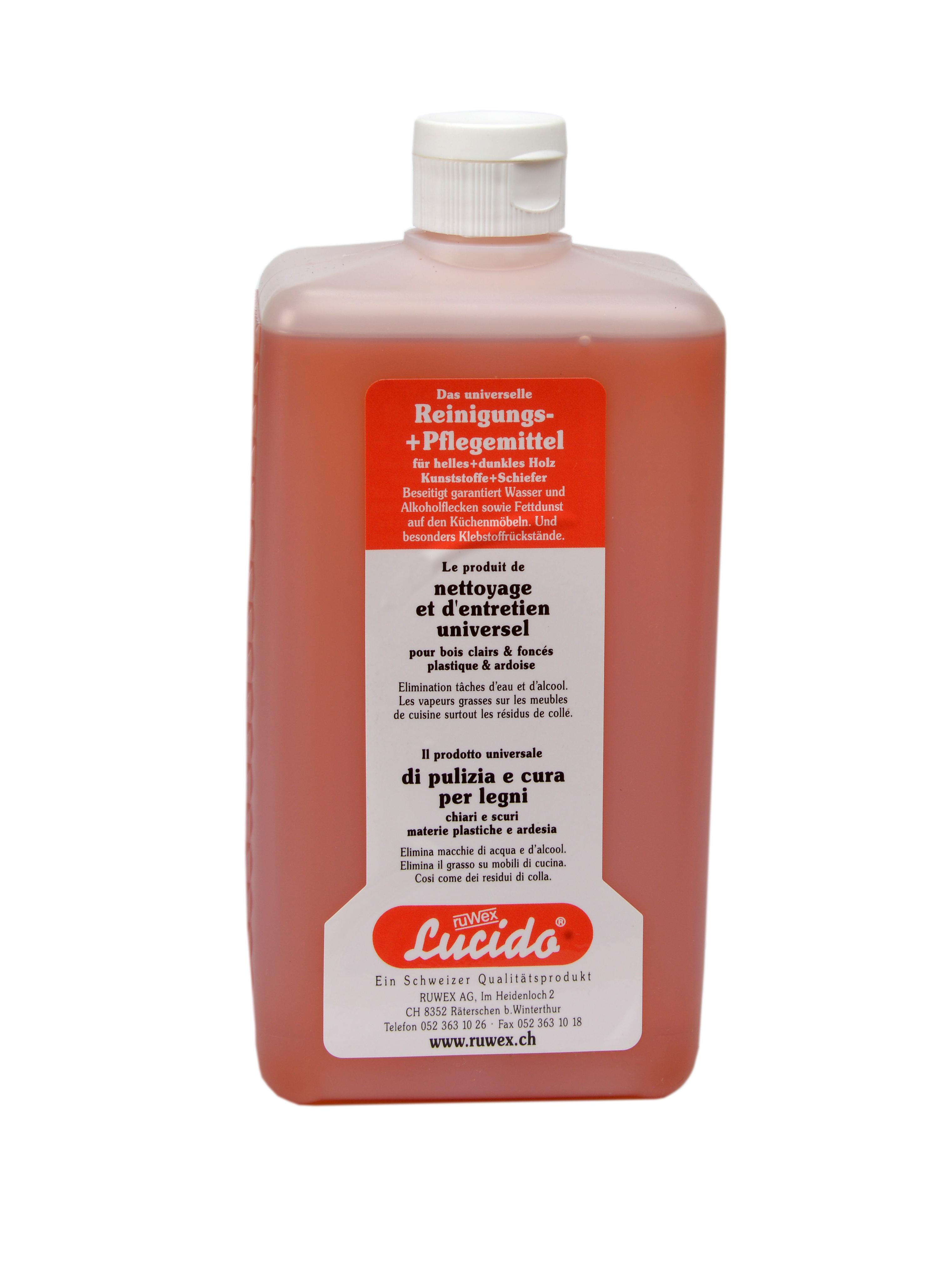 Lucido Möbelpflege 1000 ml Flasche