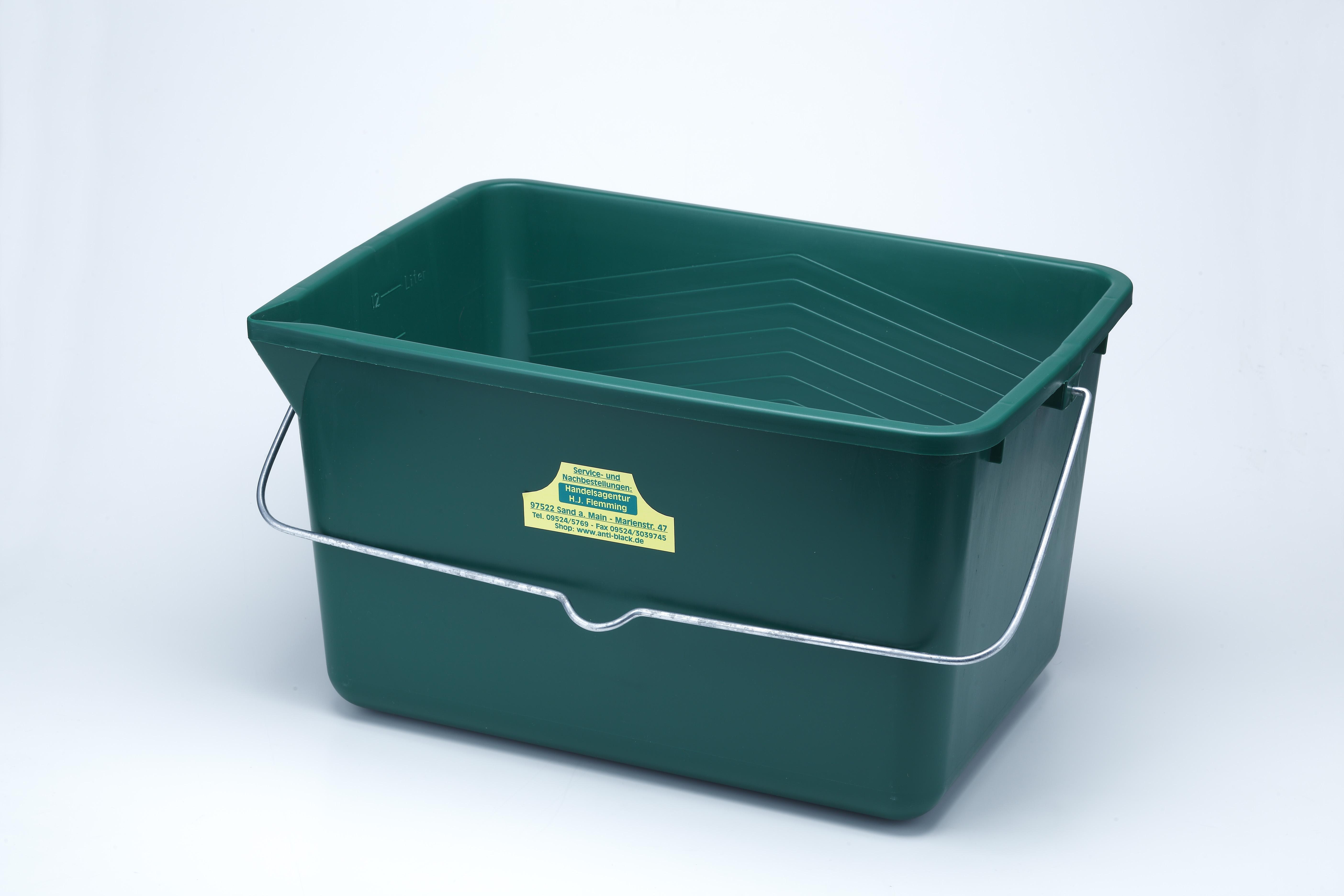 Grüner Wisch-Eimer