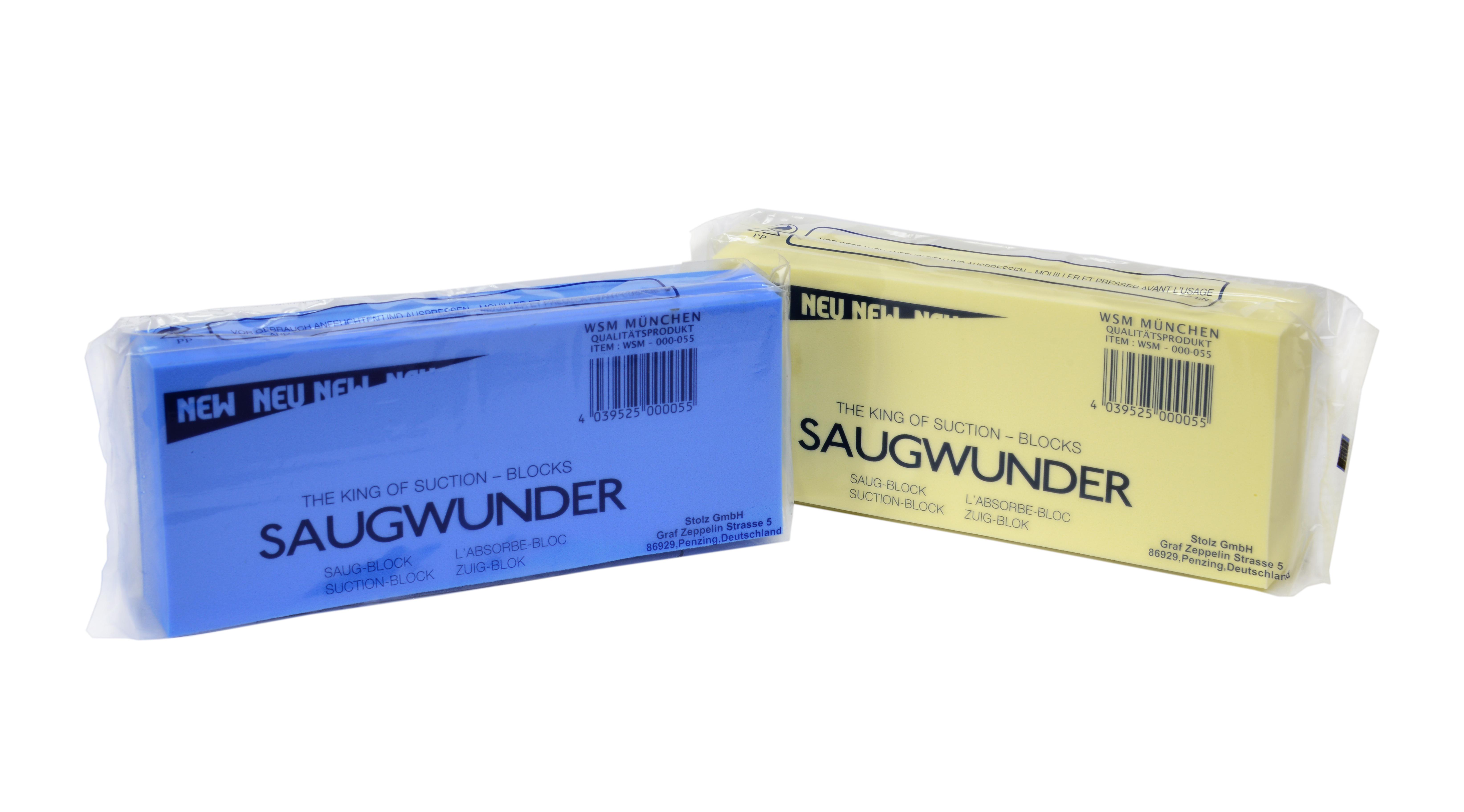 Saugschwamm / Saugwunder 2er Pack